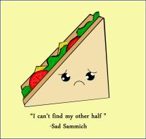 Sad Sammich by the-hangman-project
