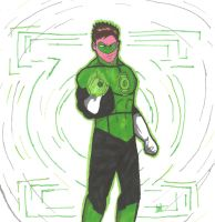 The Green Lantern by GrimmRiddle