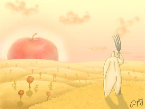 Great apple by hellgus