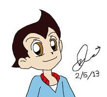 Astro Boy in PPGZ style by Agufanatic98