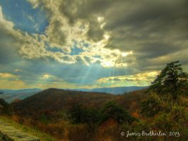Heavenly Mountains by jim88bro