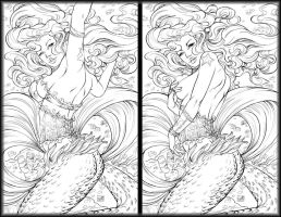 Myths and Legends 9 Linearts by ToolKitten