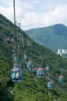 Ocean Park Cable Car by parka