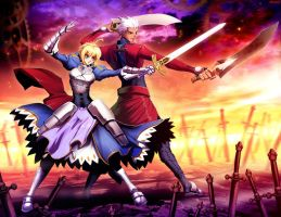 Fate Stay Night by GENZOMAN