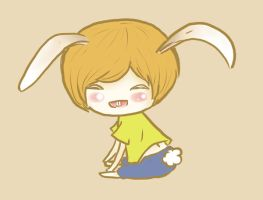 Onew Bunny by kittykat91096
