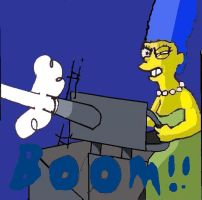 ITS MARGE by b1k