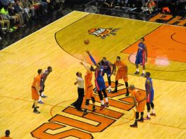 Pistons-Suns Tipoff by BigMac1212