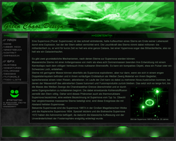 Green Chaos Webdesign by KujaEx