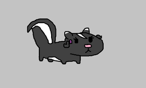 the Disrespectoids pet skunk Pennie by hershey990