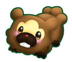 Bidoof by Clinkorz