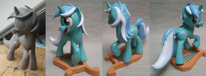 Lyra Sculpture by Sparkydahousewolf