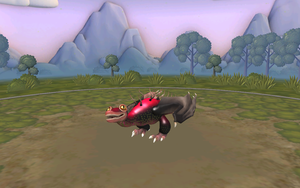 my Monstrous Nightmare in Spore by moonofheaven1