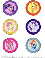 Buttons Colored by vicse