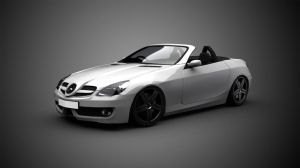 Mercedes-benz SLK 500 by gbpackers
