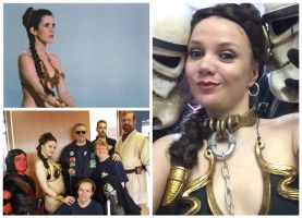 A Year Of Cosplay - 09, Slave Leia by OddTogs