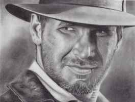 Indiana Jones by dreerose