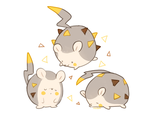 pokemon (gen 7) -- Togedemaru by onisuu