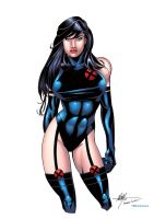 Psylocke by CarboneroBen