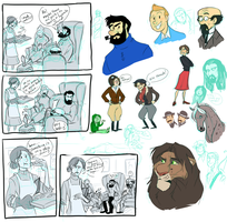 fanart doodles and stuff like that by NatAsplund