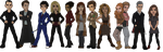 Doctor Who Chibis - ALL by Thyria