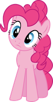 Pinkie Pie - Head-tilted perplexity by BobtheLurker