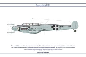 Bf 110 Hungary 1 by WS-Clave