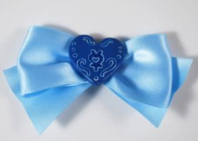 Sailor Mercury Hair Clip by sakkysa