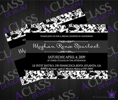 Another Bridal Shower Invite by aCLASSdesignz