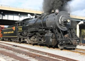 Western Maryland 734 by Kaback9