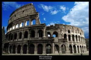 The Colosseum by levy by levydesign