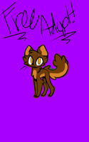 Another Free Kitty Adopt o3o by nutellawarriorcatfan