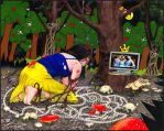 SnoWhite an The Watching Glass by m-dot