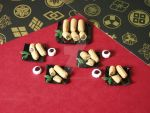 1:12 Scale Miniature Delux Egg Roll Platters by BeautifulEarthStudio