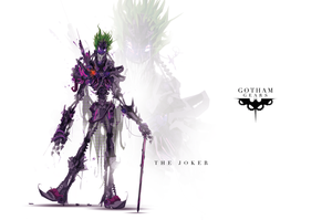 Gotham Gears: The Joker by ChasingArtwork