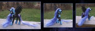 My Little Pony Nightmare Moon Custom by kaizerin