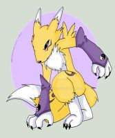 Renamon by AwkwardBex