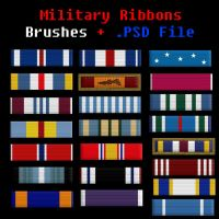 Military Ribbons by BohemianResources