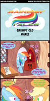 Rainbow Tales: Grumpy Old Mares by Narflarg