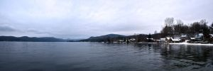 Lake George From Hague Low by xDx