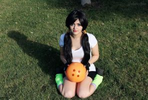 Videl Cosplay by W0lfieRose