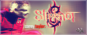 Slipknot - Corey Taylor Signature by fueledbychemicals