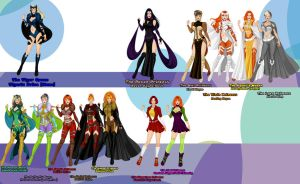 Animite Women by Gothicthundra