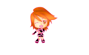 Cure Black Chibi by 4cherryjuice