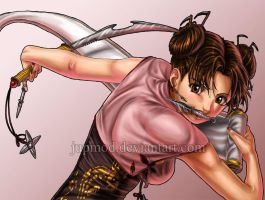 Tenten: Lovely Warrior of Steel by JuPMod