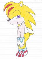 AT: Zick the Hedgehog by warriormoonnight