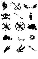RANDOM VECTOR Brush Set by Protowing
