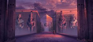 Ancient Civilizations Lost and Found Concept 02 by PedroDeElizalde