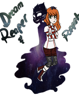 Creepypasta OC: Dream Puppet and Reaper [Update] by AllTheLittleWonders