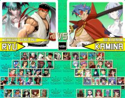 Gainax vs. Capcom by sprite-genius