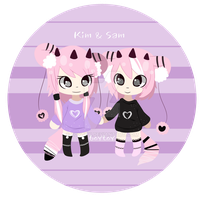 Nyanarrs Twins by 6oytoy